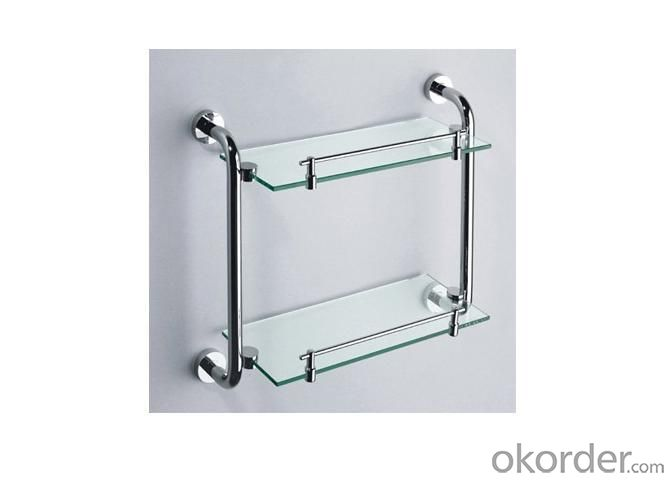 Glass Bathroom Shelves