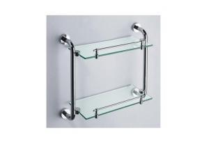 Glass Bathroom Shelves