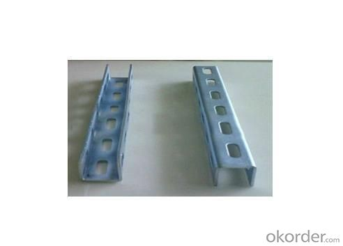 Slotted Galvanized Metal Strut C Channel