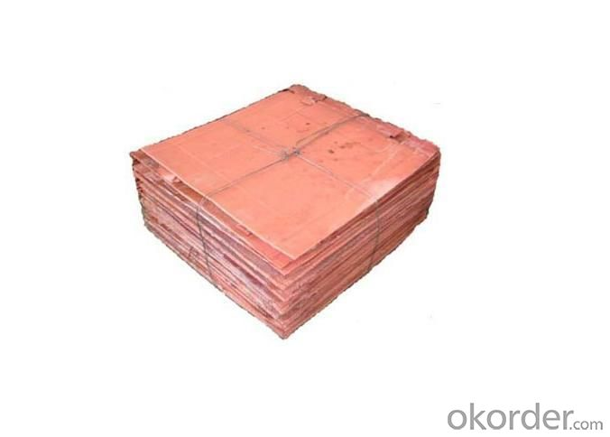 Electrolytic Copper with Factory Outlet Price