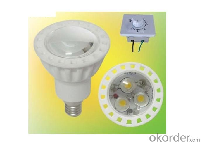 Dimmable LED Spotlight 3x1 Watt