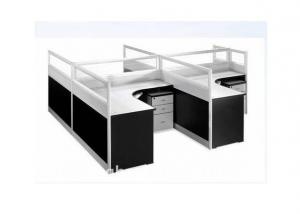 Office Partition Workstation Screen 320 with Black Colour