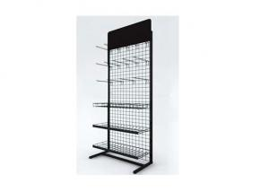 Powder Coated Hanging Display Racks with Metal Steel