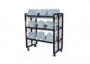 Floor Standing Wire Cart Display for Bulky Items