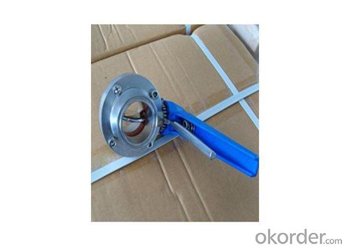 Sanitary Stainless Steel Valve with Good Quality