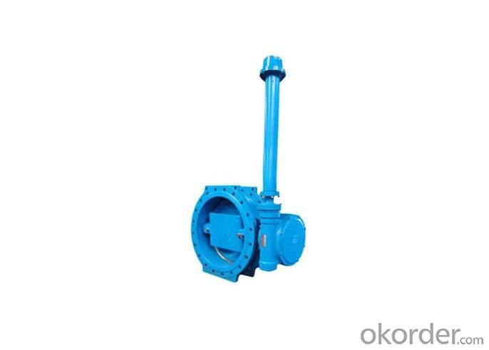 Flange Type Butterfly Valve with Extended Spindle