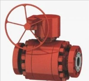 Cast Steel Pieces Ball Valve