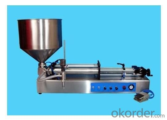Single Head Pneumatic Filling Machine