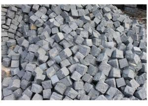 Black Granite Cobble Stone Paving