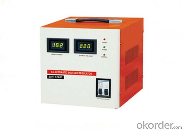 AC Automatic Voltage Regulator SVC Series