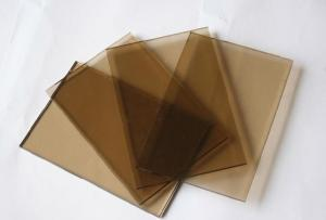 Bronze Tinted Glass Chair Mat