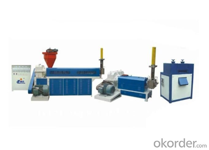 Waste Plastics Recycling Machine for Recycling Waste Plastic Materials