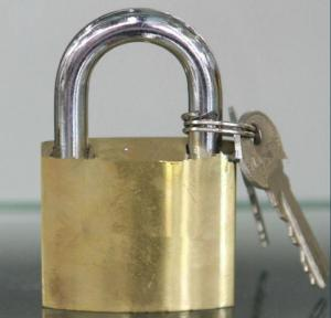 High Polishing Brass PadLock