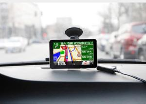 7 Inch Car Gps Navigation With Foreign Map, Support Multi-language