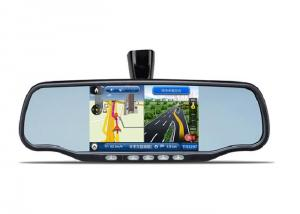 Car Rearview Mirror GPS with DVR Bluetooth AV IN
