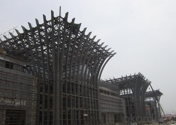 Railway Station Steel Structure