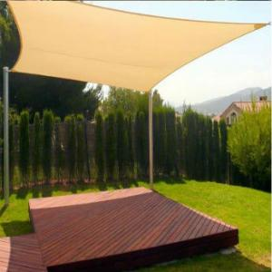 Shade Sail 350g Shade Cloth with Grommets for Home and Garden