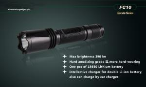 Christmas Gift-Aluminum 0.5w LED Flashlight With Portable