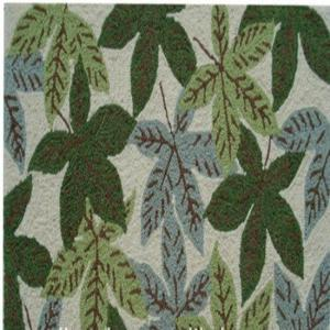 Recycled Polyester Hook Carpet Handmade