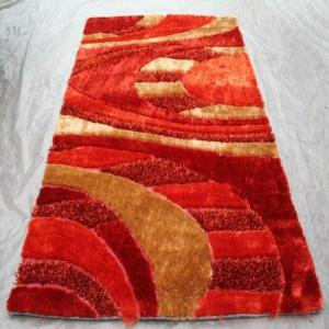 Chinese Knot Rug with Viscose Hotel Carpet
