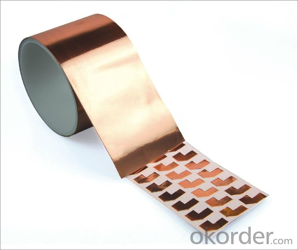 0.5mm Copper Woven Semi-Conductive Tapes