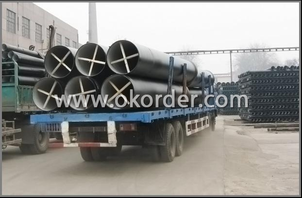TRANSPORT OF SOCKET SPIGOT DUCTILE IRON PIPES