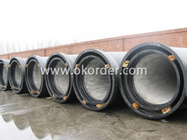 STACKING OF SOCKET SPIGOT DUCTILE IRON PIPE K8