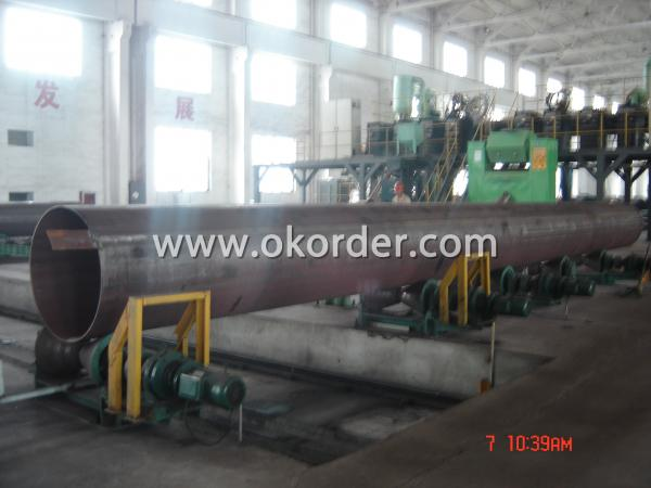 API 5L  LSAW Welded Steel Pipes Welding