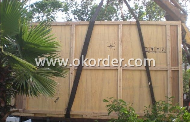 Packaging & Delivery of Auto UHT Tubular Sterilizer