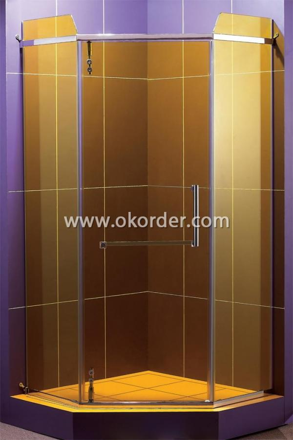 6-12mm clear safety toughened glass for shower room and shower enclosure