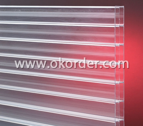 3-wall Polycarbonate Sheet