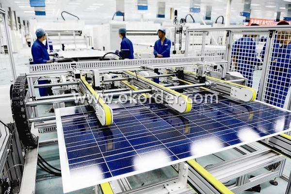 Poly solar panels CNBM 200W