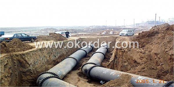 Ductile Iron Pipe Self Anchor Type
