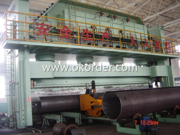 API 5L  LSAW Welded Steel Pipes Forming