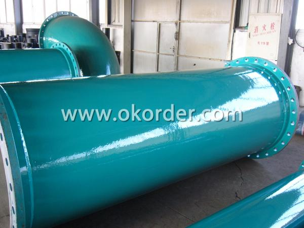 special lining or coating of Ductile Iron Pipe Self Anchor Type
