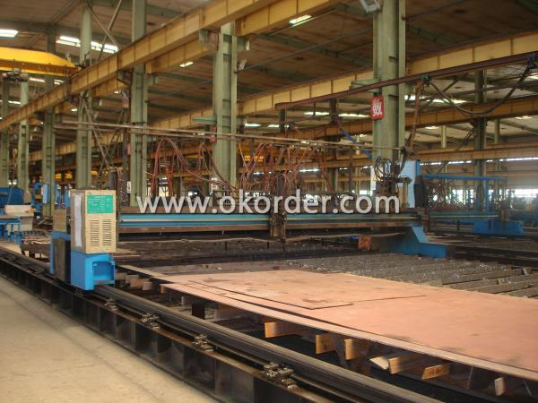 steel structure cutting machine