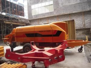 Stationary Concrete Pump  HBT80