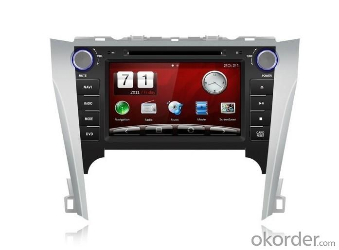 8-inch CAMRY 2011 GPS and DVD Player with Media Intergrated System for Audio