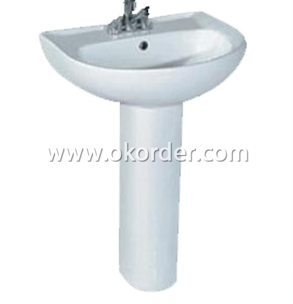 Basin With Pedestal