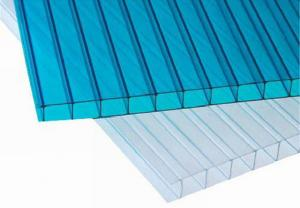 Ten Year Guarantee 4/5-Wall R-Polycarbonate Sheet With UV Protection And Different Colors