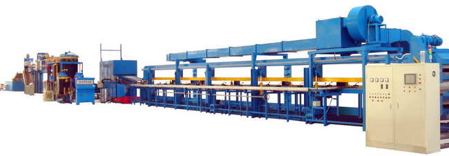 PU sandwich panel continuous line