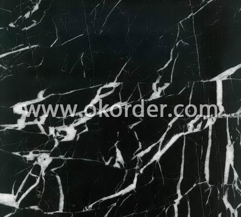 Black and White Marble Tiles M006