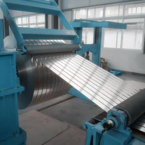 Combined Slitting and Cut to Length Line