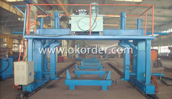 steel building square column production