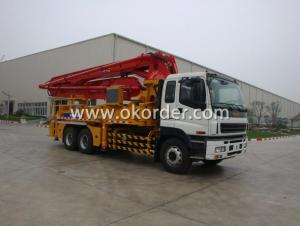 Truck-mounted Concrete Pump 43m