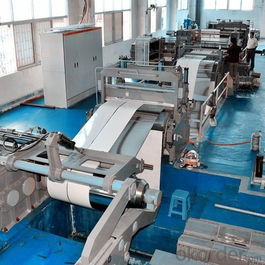 High Speed Slitting Line for 1-16mm Thick
