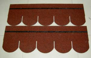 Colored Asphalt Shingle Roof Tile