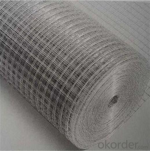 Welded Wire Mesh with Galvanized Finish for Fence