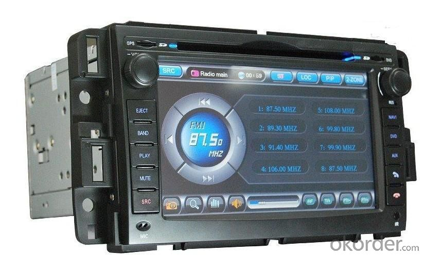 Resolution Color LCD Display DVD Player Special for GMC with Transmit An Inmage