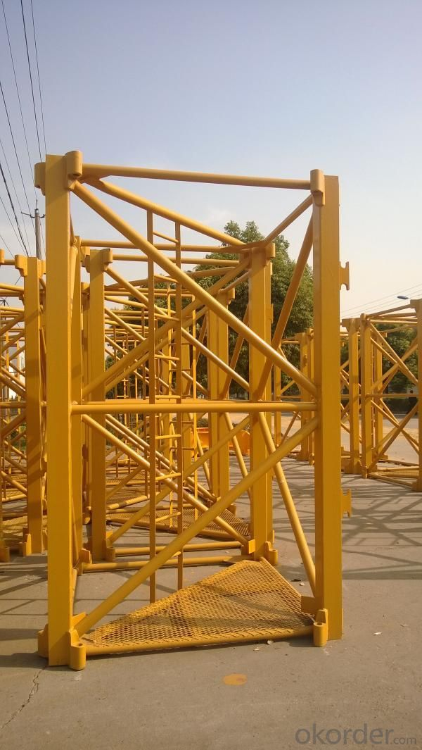 Buy 256hc Mast Section For Tower Crane Price Size Weight
